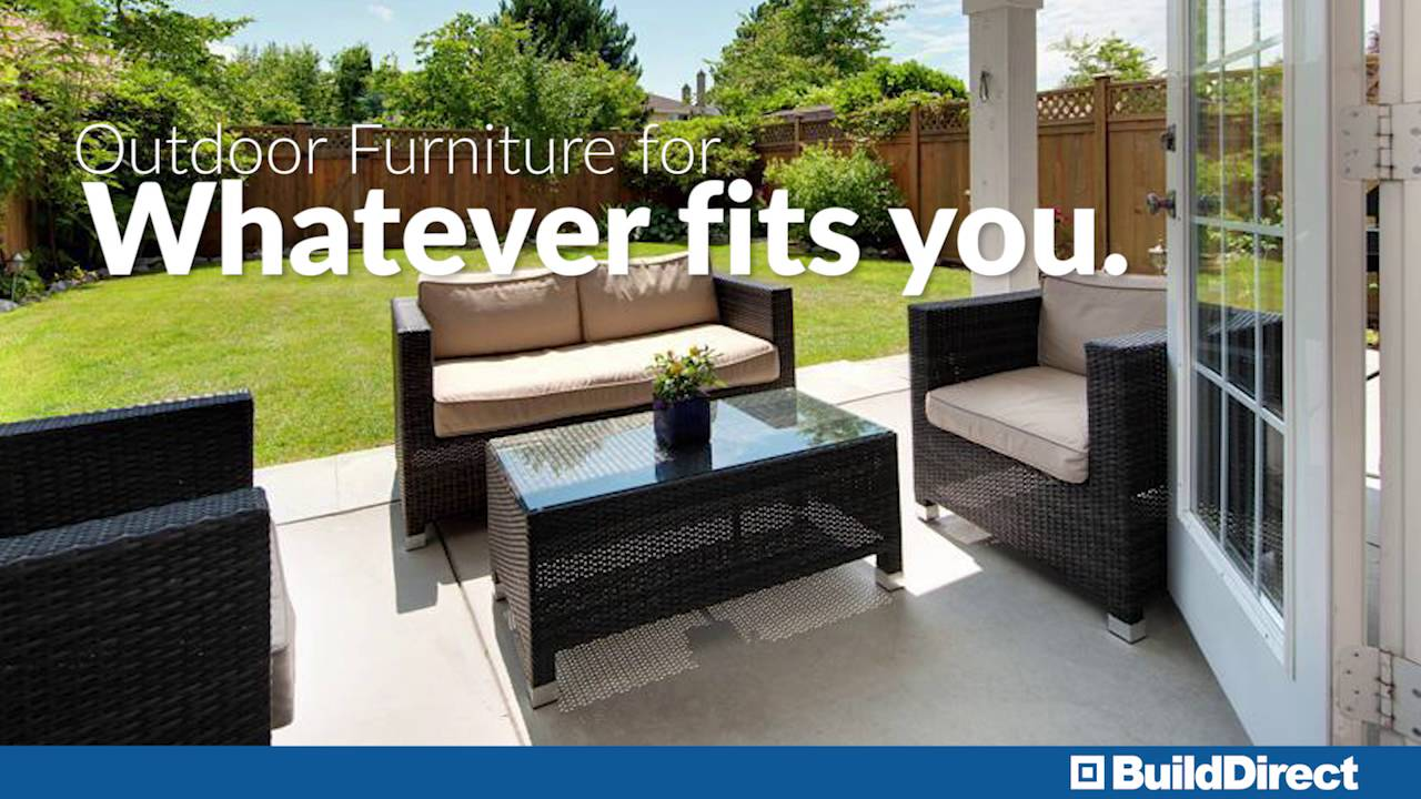 High Quality Outdoor Furniture Design Styles. BuildDirect