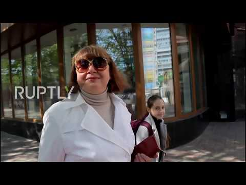 Ukraine: Lugansk residents