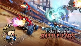 Worth Playing: Supersonic Acrobatic Rocket Powered Battle-Cars