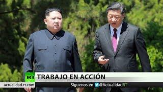 Xi Jinping y Kim Jong-un evalúan la cumbre entre Corea del Norte y EE.UU. en Pekín
