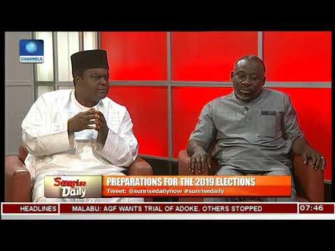Politicians Disagree Over Electoral Act Amendment Pt.2 |Sunrise Daily|