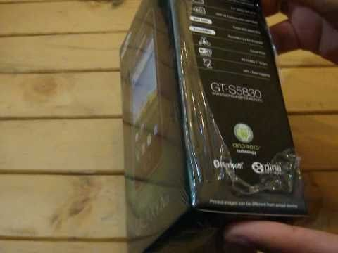 Unboxing Samsung Galaxy Ace - Indonesia