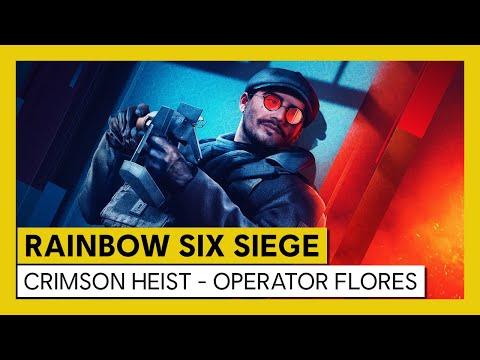 Tom Clancy's Rainbow Six Siege - Crimson Heist - Operator Flores