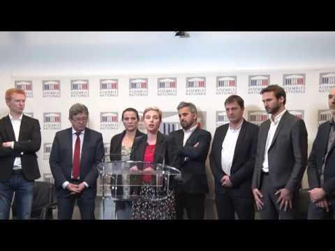 AUTORITARISME DE LA PRÉSIDENCE DE L'ASSEMBLÉE - Conférence de presse