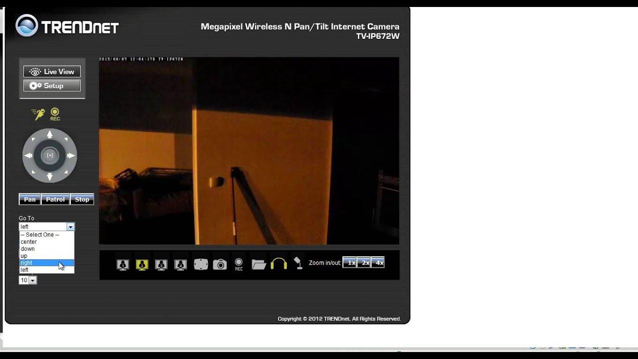 TRENDNET TV-IP672W INTERNET CAMERA DOWNLOAD DRIVERS