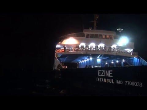 Çanakkale Boğazı'nda Korkutan Kaza