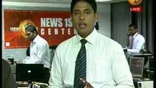 8PM Newsfirst Prime time  Shakthi TV news 30 September 2014