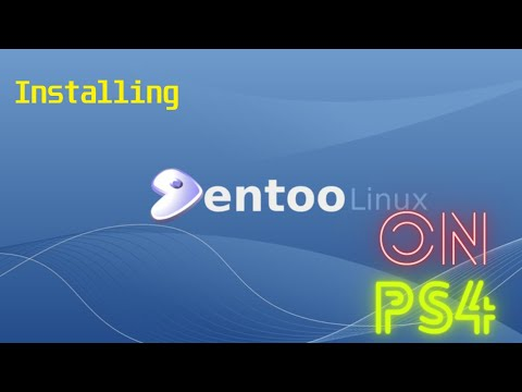How To Install Linux On PS4 7.02 Exploit Gentoo For CUH-1216A
