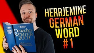 Learn German A.1 🇩🇪 Word Of The Day: Herrjemine | Episode 01 | Get Germanized