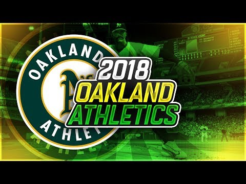 2018 OAKLAND ATHLETICS PROJECTED OPENING DAY ROSTER! MLB THE SHOW 17!
