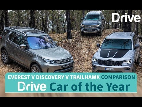 2017 Everest, Discovery, Grand Cherokee   Best Four-Wheel Drive - Dauer: 5 Minuten, 27 Sekunden