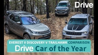 2017 Everest, Discovery, Grand Cherokee | Best Four-Wheel Drive
