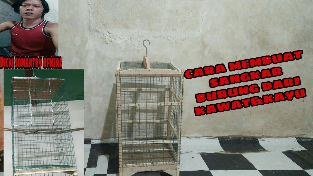 TUTORIAL#CARA MEMBUAT SANGKAR BURUNG PLECI - YouTube