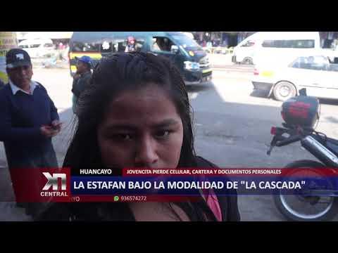"LA ESTAFAN BAJO LA MODALIDAD DE ""LA CASCADA"""
