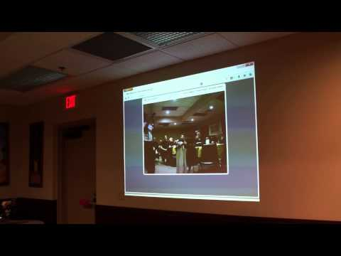 3/4 Ken Dorsey presents Broadband-Hamnet at Akron Linux User Group
