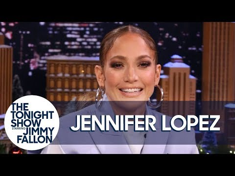Jennifer Lopez Teases Super Bowl Halftime Show, Reacts to Changing Google with THAT Dress