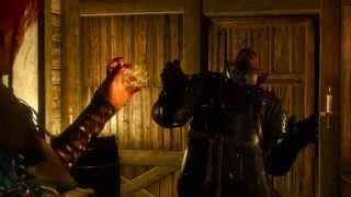 The Witcher 3 - Трисс убивает Менге (Triss kill Menge)
