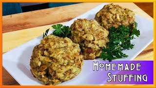 Cooking With Mom!   Easy Homemade Stuffing Recipe