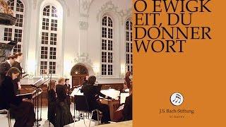 J.S. Bach - Cantata BWV 60 - O Ewigkeit, du Donnerwort - 4 - Recitative (J. S. Bach Foundation)