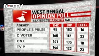 Hung Assembly In Bengal, UPA Win In Tamil Nadu: Poll Of Opinion Polls