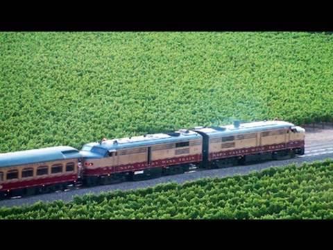Napa Valley Wine Train! Organic Food & Wine!