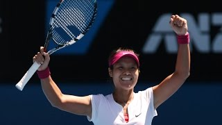 Li Na VS Eugenie Bouchard Highlight 2014 AO SF