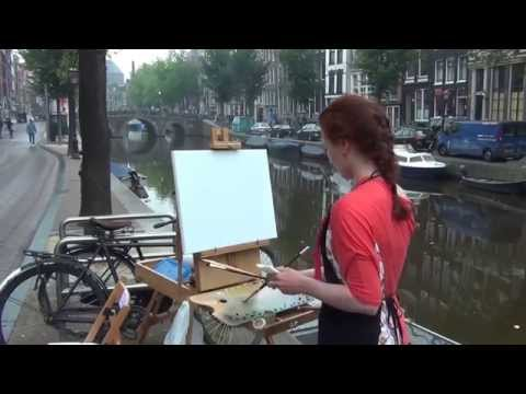 Pintar Rapido Amsterdam 2014 Outdoor Painting Competition Part 3/5