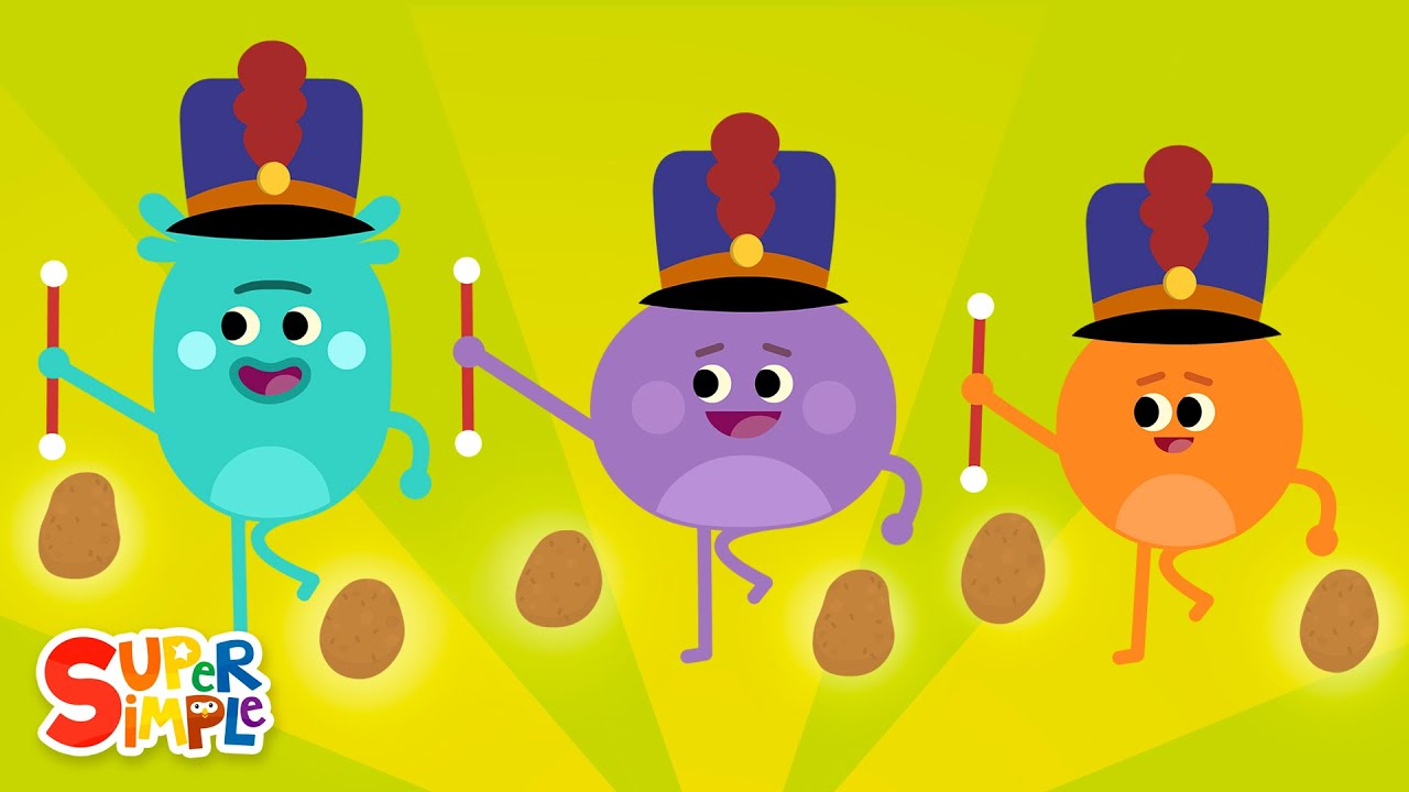 The Bumble Nums Make Marching Mashed Potatoes | Cartoon for Kids