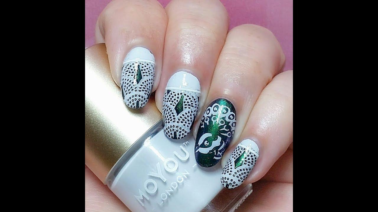 Birds of paradise nail art stamping tutorial youtube birds of paradise nail art stamping tutorial prinsesfo Gallery
