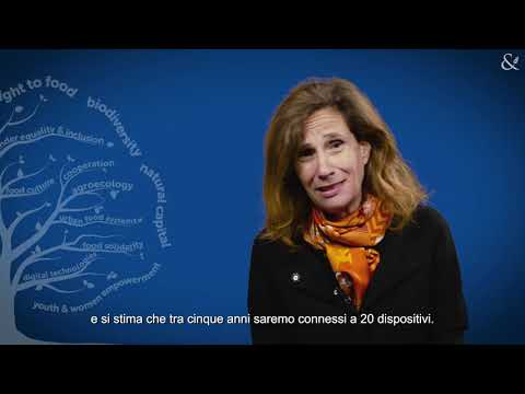 Ilaria Capua: human health is strictly linked to to environmental health.