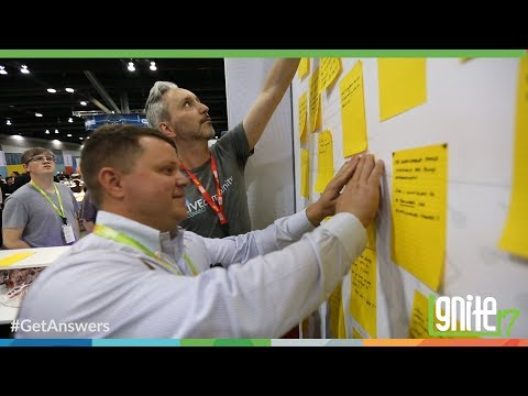 Live Community Booth at Ignite 2017 - #GetAnswers