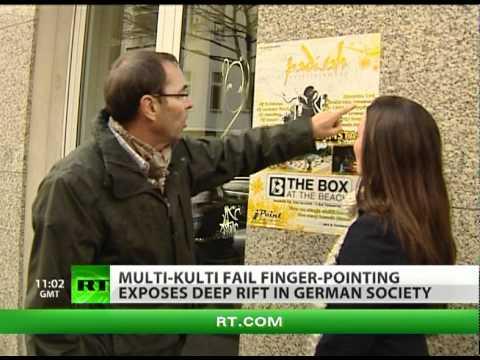 'Multi-Kulti Kaput' finger-pointing exposes deep rift in German society