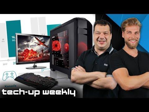 Gaming-PC Immer Unbeliebter | Ist Faceapp Gefährlich? - Tech-up Weekly #160