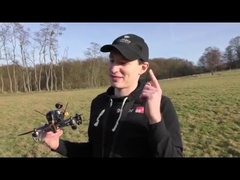 Walkera F210: Fast Maiden Flight