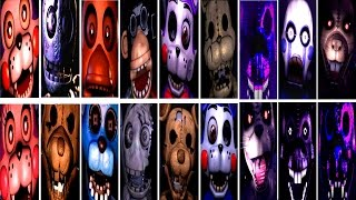 - Five Nights at Candy s 1, 2, 3 All Jumpscares WARNING FNAC IULITM