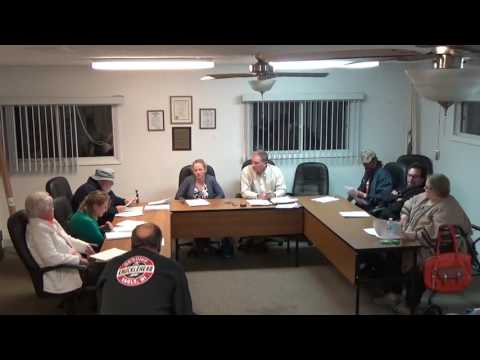 11/07/16 Village of Holiday Hills Board Meeting