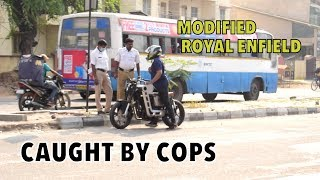 Stopped by Bangalore Police !! Illegal ROYAL ENFIELD ? : Bangalore reactions 49 thumbnail