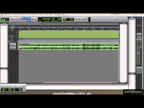 Avid Pro Tools 11: Cómo Importar Audio ó un MP3 Y Grabar - Jorge Silvestrini
