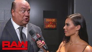 Paul Heyman reacts to Brock Lesnar's SummerSlam loss: Raw, Aug. 12, 2019