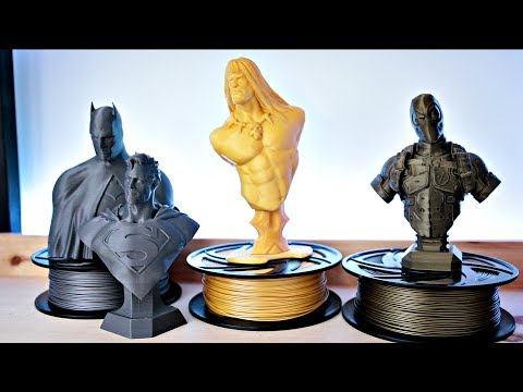 First Impressions of Zyltech's New Metallic Filament | 3D Printing
