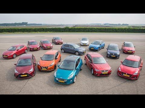 ANWB Megatest kleine gezinsauto's 2017