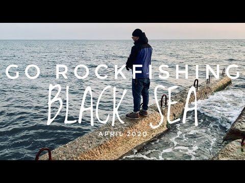 GO ROCKFISHING. BLACK SEA. APRIL 2020