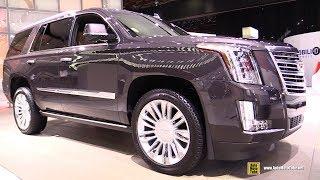 2018 Cadillac Escalade Platinum - Exterior and Interior Walkaround - 2018 Detroit Auto Show