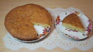 Нежный и очень вкусный пирог с ананасами