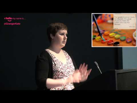 Dr Kate Granger visits HEY NHS - 29th October 2014