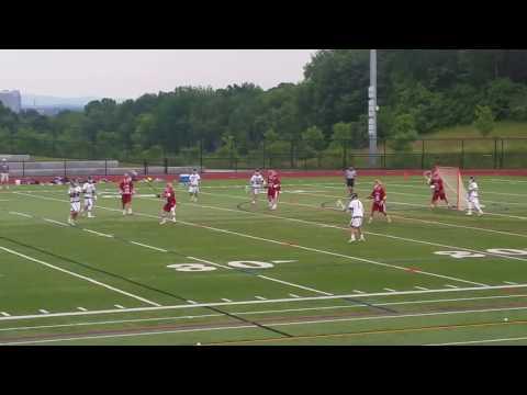 Kris Campbell scores in Longmeadow high school boys lacrosse Central-West D-II championship win over