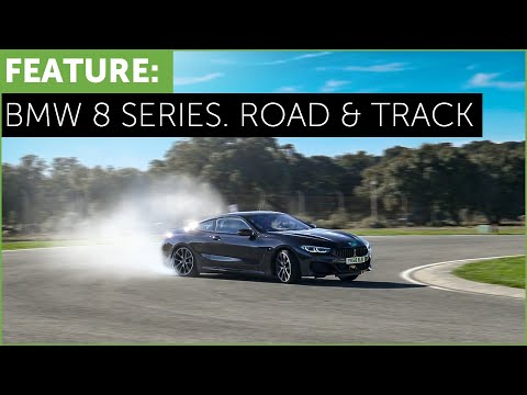 BMW 8 Series - M850i - 840d - Road and Track Test - Ascari Race Circuit w/ Tiff Needell