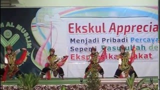 Antha, Ekskul Appreciation 2015, Tari Remo, Al Muslim Sidoarjo