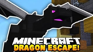 "Minecraft DRAGON ESCAPE ""CHEATED!"" #6 (Minecraft Parkour Runner) w/PrestonPlayz"