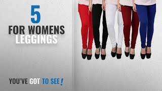 Top 10 For Womens Leggings [2018]: Subh World Leggings for Womens and Girls Cotton Lycra Multicolour